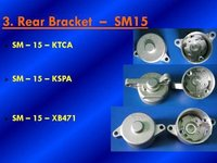 Cnc Machine Rear Bracket Parts