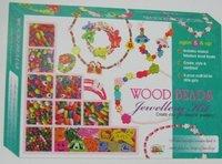 Wood Bead Jewellery Kit