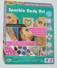 Kids Craft Kit (Sparkle Body Art)