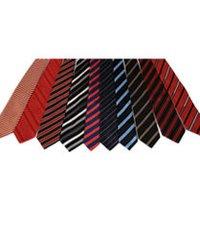 Woven Silk Slim Necktie