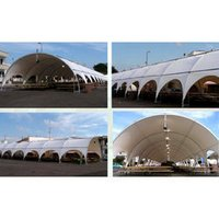 Arco Tunnel Coated Tent