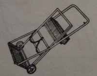 Double Gas Cylinder Trolley (HI-822)