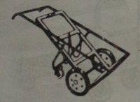 Double Gas Cylinder Trolley (HI-824)
