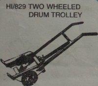 Two Wheeled Drum Trolley (HI-829)