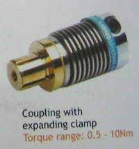 Coupling With Expanding Clamp