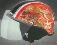 Injection Moulded Smile Helmet