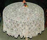 Crochet Table Linens