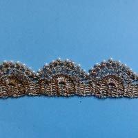 Fancy Crochet Zari Lace Edges
