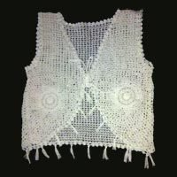 Fancy Ladies Crochet Vest