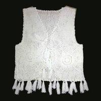 Ladies Crochet Vest