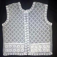 Stylish Ladies Crochet Vest
