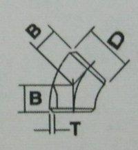Elbow 45°