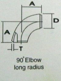 Long Radius Elbow 90°