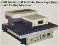 Shirt Collar & Coats Book Type Motorized Fusing Machine