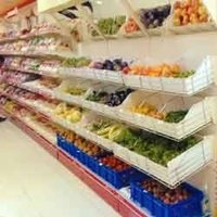 Vegetable Display Racks