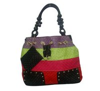 Multicolor Fashion Ladies Hand Bag With Divider And Detachable