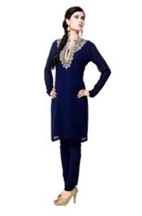 Velvet Yoke Salwar Suit