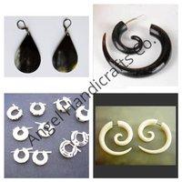 Horn Bone Earrings