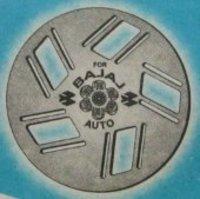 Three Wheeler Wheel Show For Bajaj Super