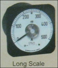Moving Coil 240° Meter (Long Scale)