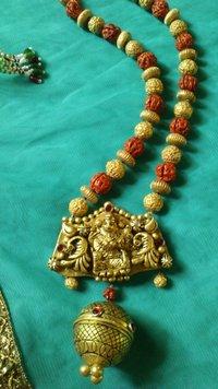 Temple Terracotta Necklace