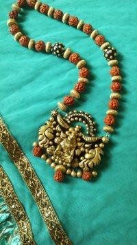 Trendy Terracotta Necklace