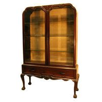 Colonial Wooden Bookcase