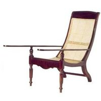 Rosewood Long Armed Easy Chair