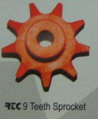 9 Teeth Sprocket