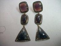 Fusion Sapphire Earrings