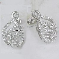925 Sterling Silver CZ Earrings