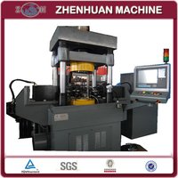 Cnc Vertical Pulley Spinning Machine