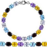 Fancy Gemstone Bracelets