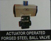 Actuator Operated Forged Steel Ball Valve