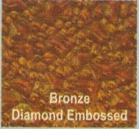 Lotus Solid Polycarbonate Sheet (Bronze Diamond Embossed)