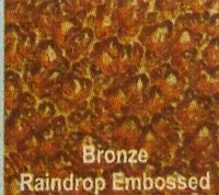 Lotus Solid Polycarbonate Sheet (Bronze Raindrop Embossed)