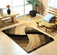4d Polyester Shaggy Carpet