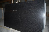 Black Polished Galaxy Marble