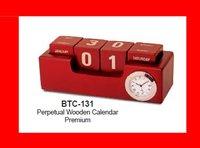 Perpetual Wooden Calendar Premium (Btc-131)