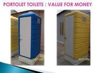 Portable Molded PVC Toilet Cabin