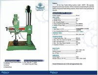 All Radial Drilling Machine