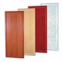 Pvc Solid Toilet Door
