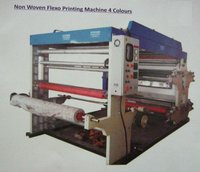 Non Woven Flexo Printing Machine 4 Colors