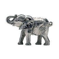 Designer Silver Elephant Statue