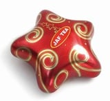 Star Shaped Food Packaging Tin Boxes For Cookies
