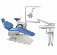 Dental Chair with LED Dental Lamp