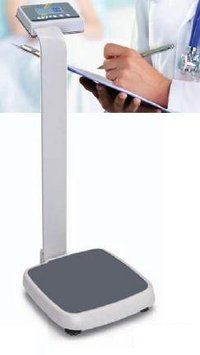 Personal Floor Scale With Stand (Kern Mpe-Pm)