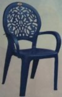 Attractive Blue Plastic Chair