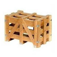 Corner Setting Wooden Crates