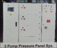 3 Pump Pressure Panel System